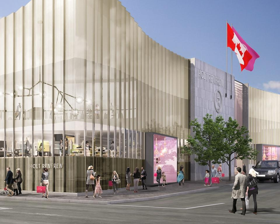 holt renfrew square one Holt Renfrew & More coming to Square One holt renfrew square one life rendering