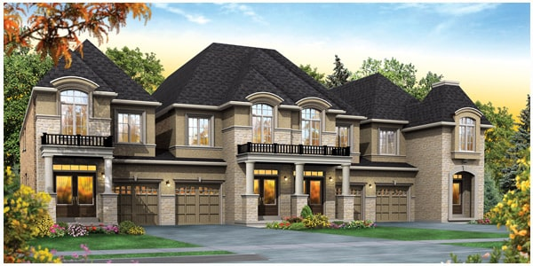 Summit city centre mississauga townhomes phase 2 for Luxury townhouse designs