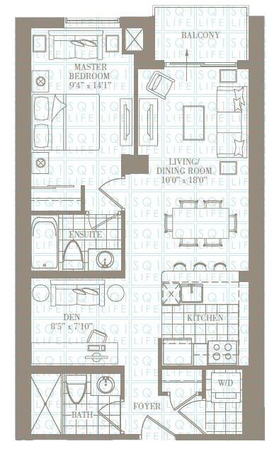 1+1-Bed-2-Bath-The-Engelwood-776-sqft chicago condo Chicago Condo 1 1 Bed 2 Bath The Engelwood 776 sqft