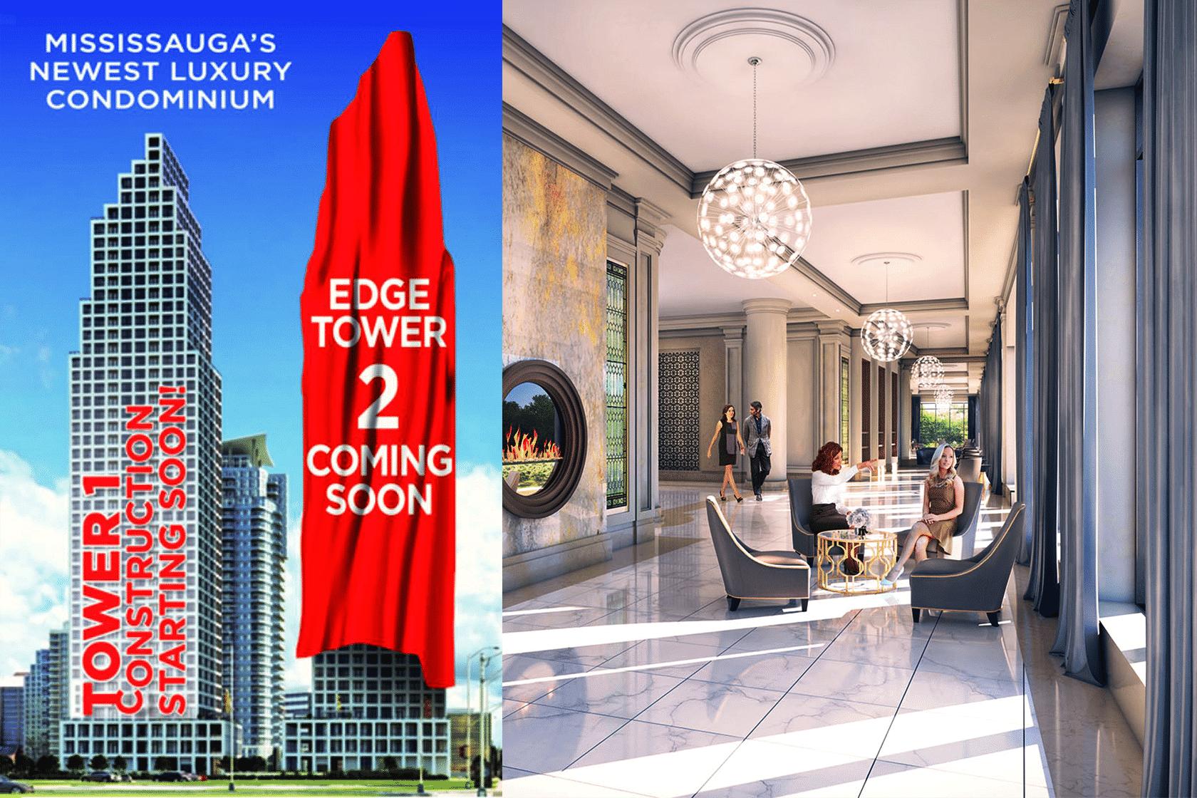 cooksville go Edge Tower 2 Condos edge tower 2 edge condos tower 2 mississauga edge condos for sale