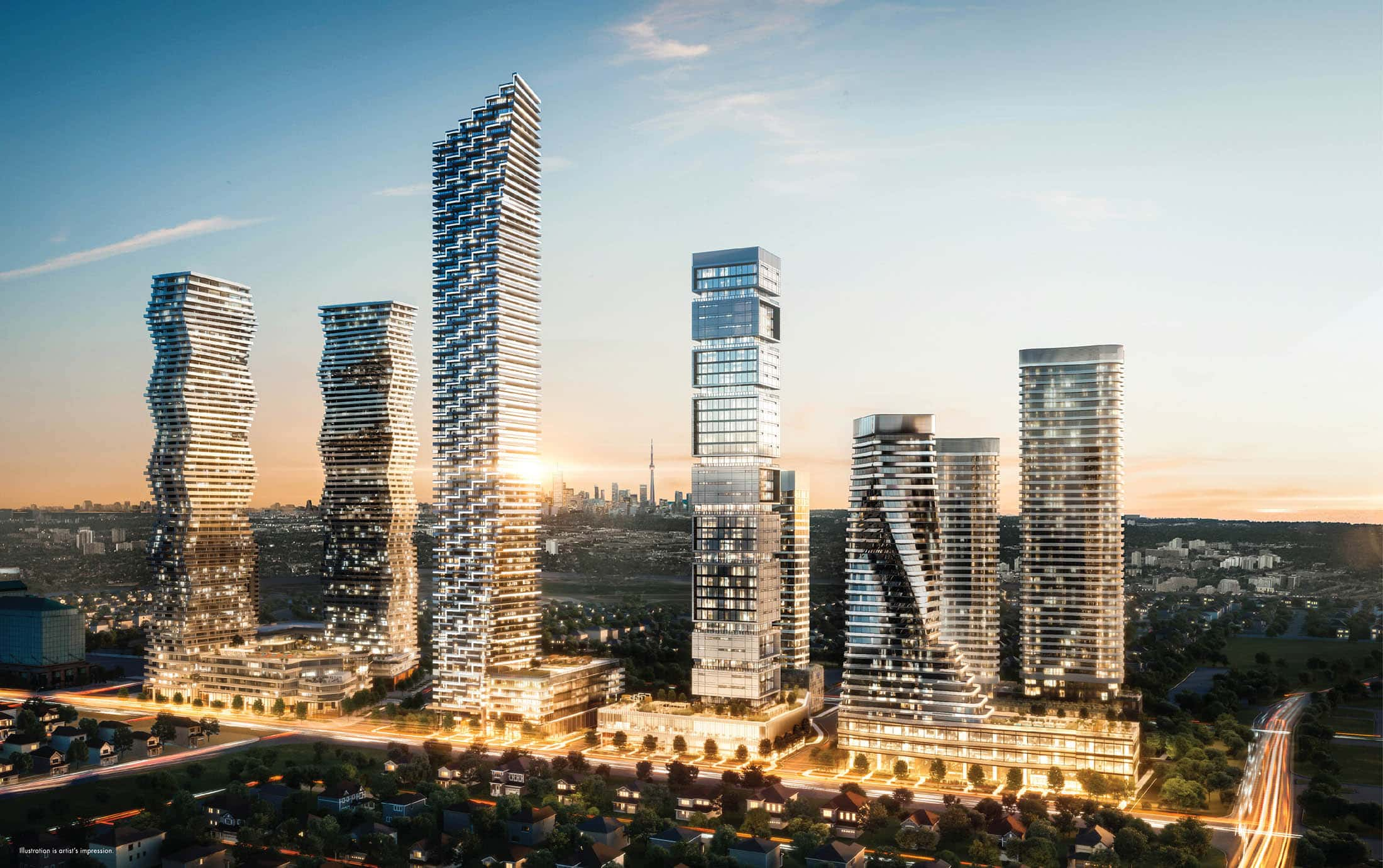 [object object] M3 Condos Official Release Mississauga m3 condos mississauga m city skyline square one life